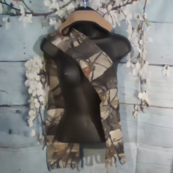 Accessories - Ear cover headband and camouflage scarf